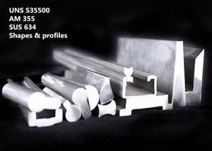 China AM 355 / SUS 634 High Temperature Alloys Melting Range 2500 - 2550°F For Food Industry Parts on sale