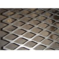 Flattened expanded metal mesh with 4x8 feet size for screening