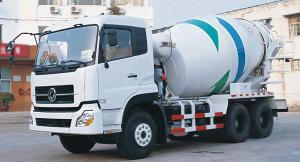 China 10 Wheels Concrete Mixer Truck 10m3 Capacity 6x4 Model Driving DFL5250 on sale