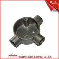 China Instalación de tuberías de tres vías de la caja de conexiones del conducto EMT/IMC del aluminio modificada para requisitos particulares, ISO9001 on sale