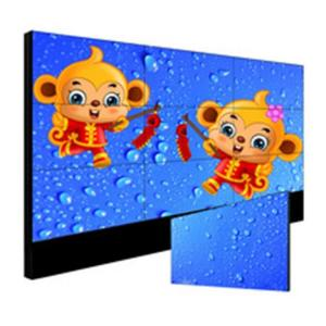 China Custom Seamless Video Wall Monitors , 49 Inch Exhibition 4 Screen Video Wall on sale
