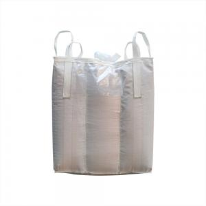 China Polypropylene 1 Ton Jumbo Bag Food Graded With Filling Spout Top on sale