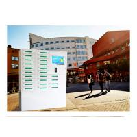 24 Box Cell Phone Charging Kiosk / Valet Charging Station For School University Library Vending Machine Kiosk