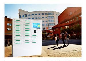 China 24 Box Cell Phone Charging Kiosk / Valet Charging Station For School University Library Vending Machine Kiosk on sale