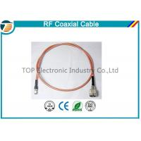 Brass Antenna Jump Pigtail RF Coaxial Cable with TNC Connector