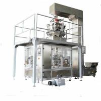 Date palm Packing machine stand up pouch filling machine,cheap film forming bag pouch packaging machine for granule