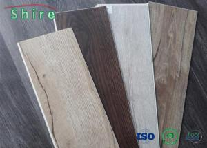 China High Performance SPC Vinyl Plank Flooring Tile With 0.3mm / 0.5mm / 0.7mm Wear Layer on sale