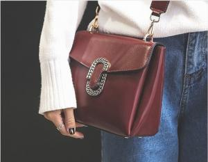 China 2017 Wide shoulder straps Crossbody bag fashion PU Hasp small shoulder bag on sale