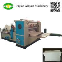 High speed automatic three fold hand towel paper making machine