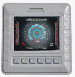 China Programmable 5 Inch Full Color Tft Lcd Controller With Reverse Polarity Protection on sale