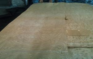 China Yellow Ash Wood Veneers For Cabinets , Natural Wood Veneer Panels on sale