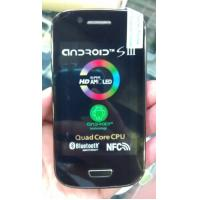 """4"""" smart phone Android Mini S3, android 4.1 OS, 2GMSslot, with Bluetooth, GPS, MP3, Ebook"""