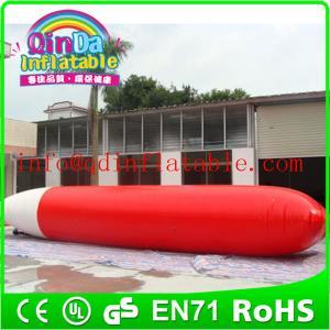 China 新しい水ゲーム販売のための膨脹可能な水枕ジャンプ水カタパルト on sale