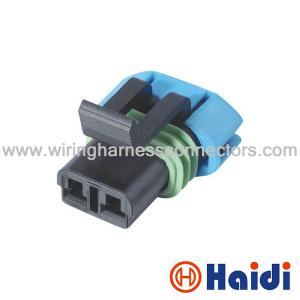 GM Delphi Automotive Wiring Harness Connectors 2 Pin Wire ... on 2 wire door jamb switch, two wire connector, 2 screw connector, 2 terminal connector, 2 wire tail lamp socket, 2 pin connector, 2 wire fog light switch, 2 wire starter, 2 tubing connector,