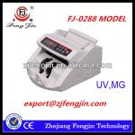 THE MOST POPULAR FJ-0288 UV/MG counterfeit detector bill counting machine