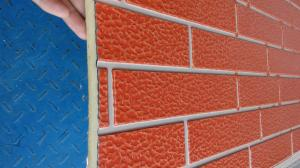 China CE approval decorative insulation panel for exterior wall brick texture with lifetime 50 years on sale