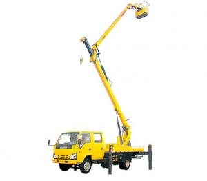 China 2T Lifting Capacity XCMG Bucket articulating boom truck 360 Slewing Angles on sale