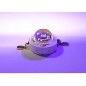 China ODM / OEM UV LED Diode High Power 1W 3W UV-A LED Emitter 315 - 400 nanometers on sale