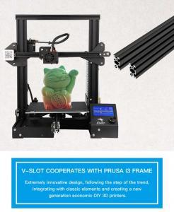 China wholesale  Creality 3D Ender-3 Vslot Prusa I3 DIY 3D Printer Kit Ender3  with MK10 Extruder 1.75mm 0.4mm Nozzle on sale