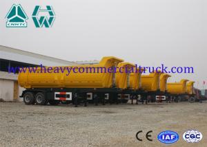 China 2 Axle Heavy Duty Dump Trailer Hyva Cylinder 30 Ton Custom Dump Trucks on sale