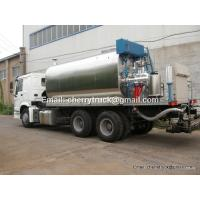 HOWO Asphalt distributor, Bitumen sprayer, asphalt tanker trailer