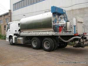 China HOWO Asphalt distributor, Bitumen sprayer, asphalt tanker trailer on sale