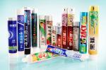 L'emballage coloré de tube de pâte dentifrice d'impression offset, plastique a stratifié des tubes