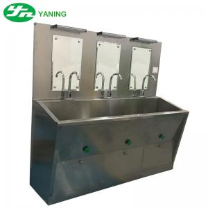 China Knee Operated Hand Wash Sink Stainless Steel Material on sale