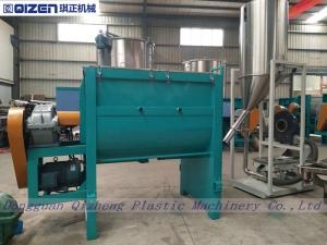 China Recycled PET Plastic Granule Mixer , Plastic Color Mixer Machine Stainless Steel on sale