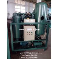 Vacuum Turbine Oil Purifier | Turbine Oil Water Separator | Used Turbine Oil Cleaning