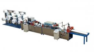 China Natural Recycled Automatic Non Woven Bag Machine , Rolling Type Non Woven Fabric Carry Bag Making Machine on sale
