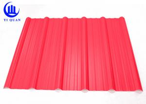 China Light Weight Corrugated Pvc Roof Panel For Parking Sheds PVC Panel / House on sale