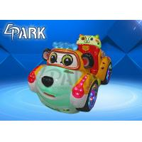 China Fiberglass And Plastic Kiddy Ride Machine Train Ride On Track With Time Controller on sale