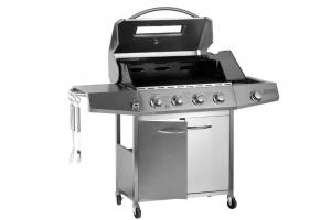 China LP Propane BBQ Gas Grill Commercial Kitchen Equipment for Picnic , 4 - 6 Burners on sale