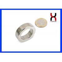 Neodymium N52 Ring Shaped Magnet Customized Diameter And Thickness