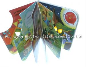 China Twinkling Lights Flashing Baby Sound Books Module with Funny Birthday Songs on sale