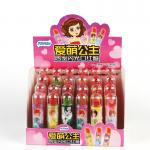 Healthy Sugar Free Candy Lipstick Shape Lollipop Flashlight Lighting Lipstick Toy Candy