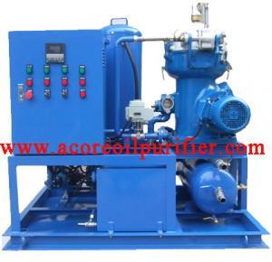 China Centrifugal Oil Purifier & Centrifuging Oil Separator for Marine Oil, Diesel, Turbine Oil on sale