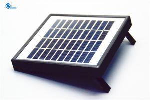 China Solar Photovoltaic Panel  6V 9V 10V customized Solar Panel ZW-2W-10V solar photovoltaic panels for light small system on sale