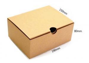 China Premium Custom Printed Corrugated Boxes Foldable Kraft Paper Box Handmade on sale