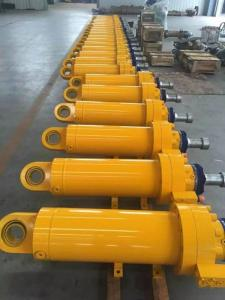 China Precision Double Acting Hollow Hydraulic Cylinder Plunger Type For Excavator on sale