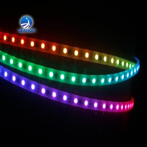 China Ultra-thin Double Sided Led Strip Light 3528smd Led Strip Silicone Led Neon Flex Wearable Led Strips Lighting on sale