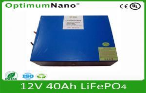 China Batterie d'ion de lithium 12V 40AH avec BMS et dimension adaptée aux besoins du client pour le chariot à golf/caddies, batteries électriques de chariot à golf on sale