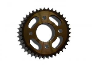 Quality Thermal Treatment 1045 Steel Motorcycle Sprocket Chain For Yamaha Motorbike for sale