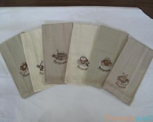 China Linen Kitchen Towels Lint Free, Ultra Soft, Durable, Scratch-Free, Machine Washable. on sale