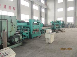 China El rajar y corte automáticos de la bobina del metal a la máquina de la longitud para el polo ligero on sale