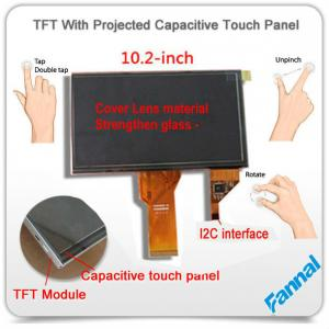 China G+G+G Rugged TFT 10 Inch Capacitive Touch Screen Lcd Monitor for 3D Printer on sale