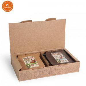 China Coffee Paper Gift Packaging Box , Corrugated Paper Box OEM ODM Service on sale