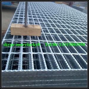 China Galvanized steel Bar Grating/galvanized serrated grating on sale