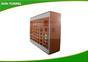 China Steel Cabinet Ice Cream Vending Machines , Protein Shake Vending Machine Grocery Store Usage on sale